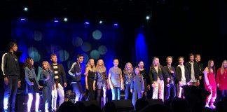 Konsertbilde fra MGP jr på Milepelen