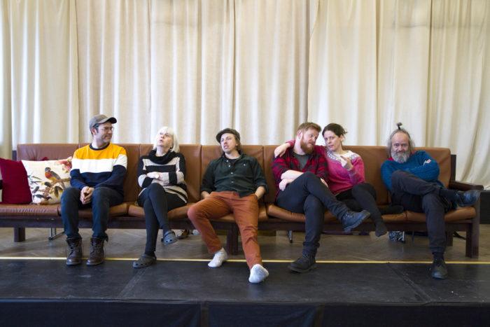 Regissør og skuespillere i Glåmdalsmonologene